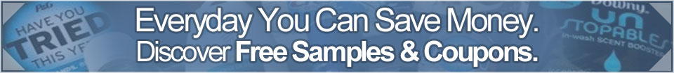 Subscribe to our daily free samples newsletter!