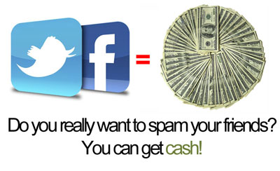 Facebook Friends Earn Cash