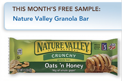Nature Valley Oats n Honey Granola Bar at Quick Chek