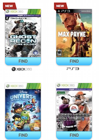 FREE Video Game Rental (Text Offer)