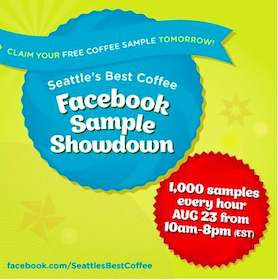 FREE Seattle's Best Coffee Samples TODAY