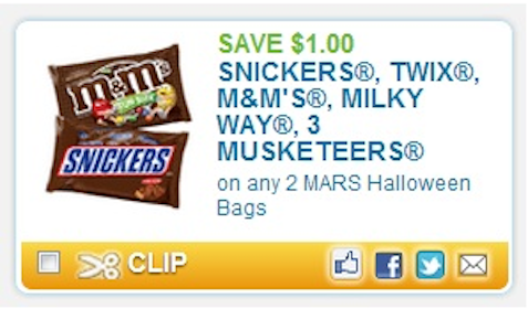 Mars candy coupon june 2018