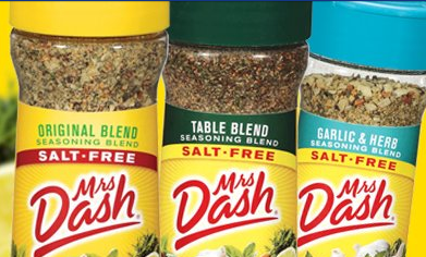 FREE Mrs. Dash Seasoning Samples