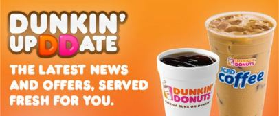 Dunkin' UpDDate Offer