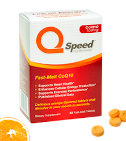 2-Pack Sample of QSpeed Fast-Melt CoQ10 Tablets