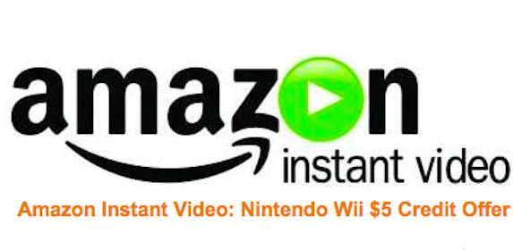 Register Nintendo Wii Console & Get a FREE $5 Amazon Instant Video Credit
