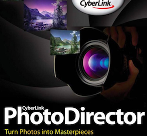 Copy of Highly-Rated Cyberlink PhotoDirector 3 Software  $149.95 Value (PC Users Only)