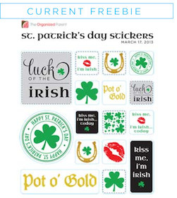 St. Patrick's Day Stickers