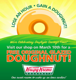 Original Glazed Doughnut from Krispy Kreme on March 10th (No Purchase Necessary!)