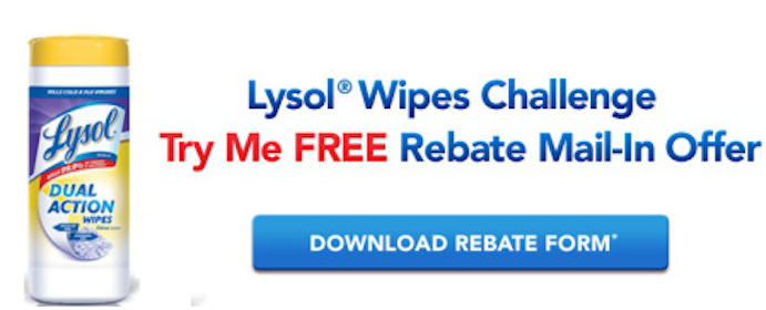 35 Ct. Lysol Dual Action Wipes After Rebate (at Various Stores)