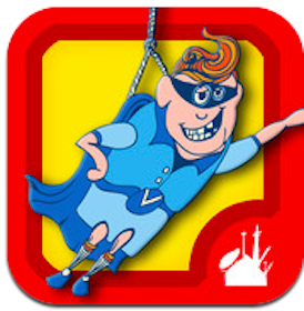 iTunes app for Kids: ClickySticky Superheroes