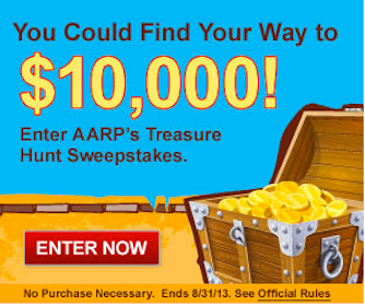 62 Win $200 Apple Gift Cards in the AARP Treasure Hunt Sweeps & Instant Win Game