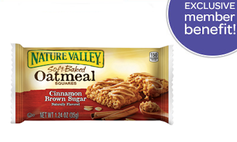 Nature Valley Oatmeal Square for Pillsbury Members