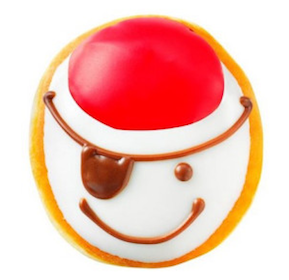 Krispy Kreme Doughnuts On International Talk Like a Pirate Day (9/19 -No Purchase Necessary!)