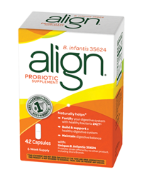 FREE 7-Count Box Of Align Probiotic Sample