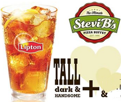 Free Lipton Tea at Stevi B's