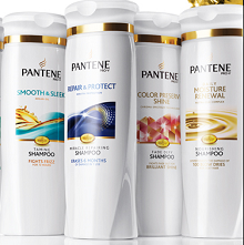 Free Pantene Shampoo & Conditioner Samples